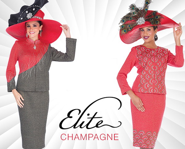 Elite Champagne Suits And Dresses 2020