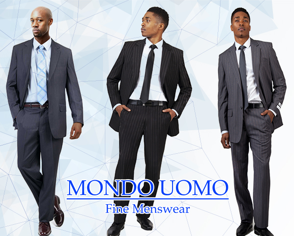 Italian Designed Mondo Uomo Mens Suits 2020