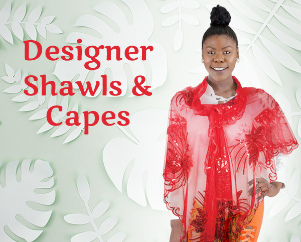 Designer Shawls And Capes 2020